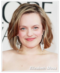 Elizabeth Moss hairstyles